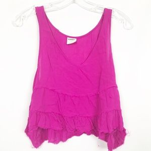 Intimately Free People Hot Pink Flowy Tank Top